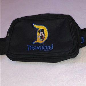 "Disney ""D"" Mickey Disneyland Resort Fannypack"